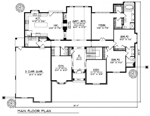 Country french floor plan tuscany homes for French country floor plans