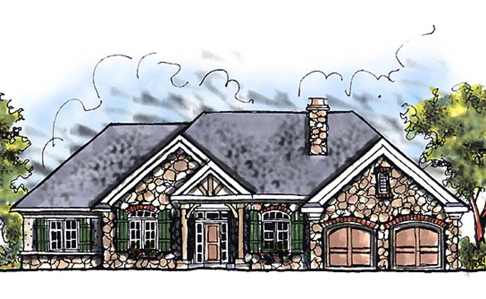 Country French Floor Plan Tuscany Homes