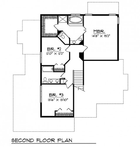 midwestern plan 50593 floor plan tuscany homes best 25 ranch floor plans ideas on pinterest ranch