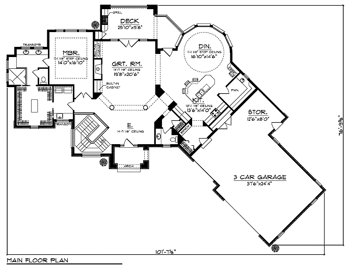 Tuscan plan 28408ll floor plan tuscany homes Tuscan home floor plans