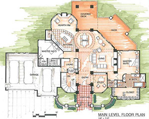 floor plans - Custom Floor Plans