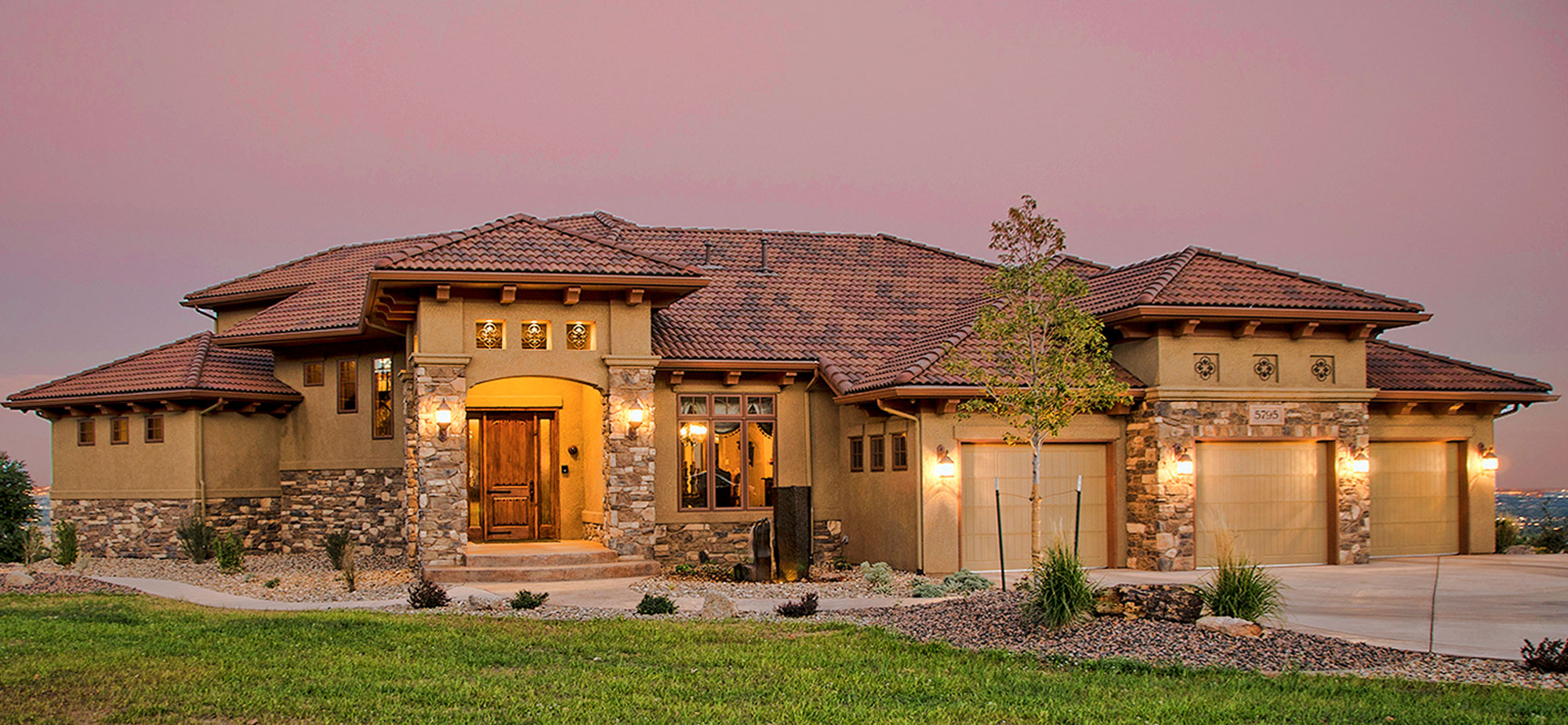 Tuscany homes new custom designed homes by an award for Italian farmhouse plans